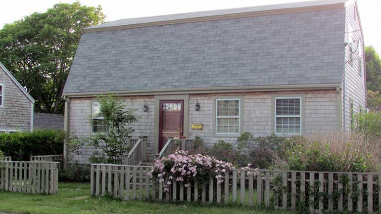 Gambrel style home located at 11 Atlantic Avenue Nantucket