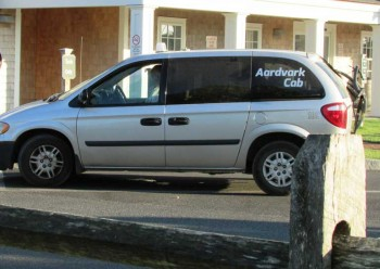 Ardvark Taxi at the Airport