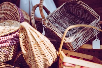 Multiple Wicker Baskets