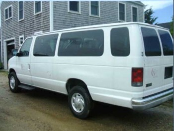 White Cranberry Transport Van