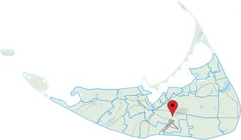 Mid-Island area of Nantucket