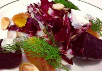 Spring Salad, Served at Black-Eyed Susan's durring Nantucket Restaurant Week