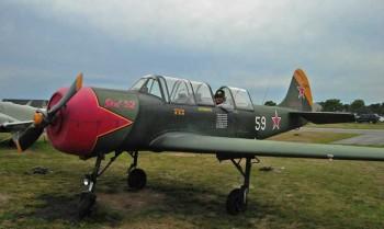 Green Antique Plane