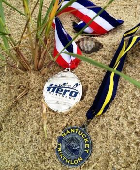 Nantucket Marathon Medals